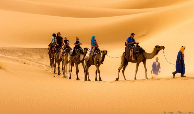 3 Day Desert Tour to  Merzouga