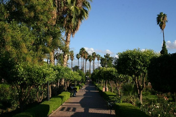 Marrakech gardens tour by horse cabs for Jardin marrakech