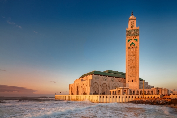Half Day tour in Casablanca and Mosque Hassan 2